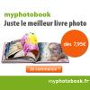 MYPHOTOBOOK : 10 euros de réduction pour tout nouveau client !