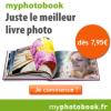 MYPHOTOBOOK : Votre livre photo dès 7,95 euros !