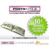 PHOTOCITE : 10 euros de réduction sur votre premier livre photo !