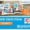 10 € de réduction sur les livres photo PIXUM !
