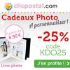 Remise immédiate de 25% par Clicpostal