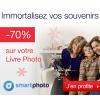 Smartphoto : Remise de 70% sur le Livre photo L