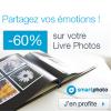 SMARTPHOTO : -60% sur les livres photo Inspire et Create