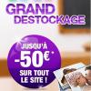 Grand déstockage Photocité : jusqu'à -50€ sur votre livre photo