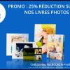 25% sur tous les livres photos FOTO.com