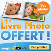 SNAPFISH : Livre photo gratuit