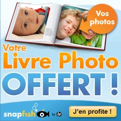 SNAPFISH : Livre photo gratuit