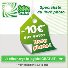 FOTO CARDS : 10 euros de réduction sur votre livre photo