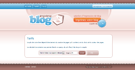 ImprimeBlog.com : Votre blog sur livre, et le virtuel devient réel !