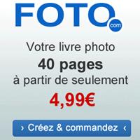 FOTO.com : Votre livre photo à partir de seulement 4,99 euros