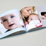 """Votre livre photo ouvert : ici, un livre photo """"bébé"""" ..."""