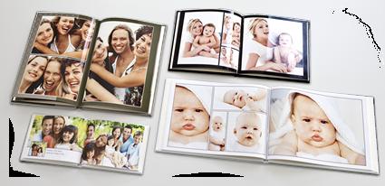 Vous avez le chois de la mise en page de votre livre photo
