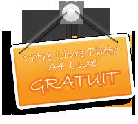 Votre livre photo luxe gratuit ?