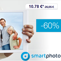 SMARTPHOTO Livres Photo L : 60% de réduction !