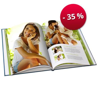PosterXXL : -35 % sur le Livre photo relié A5