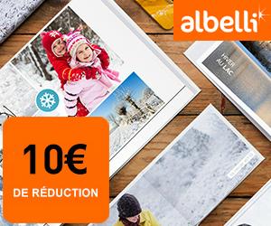 Le labo photo ALBELLI offre 10€ pour toute commande de plus de 50€ !