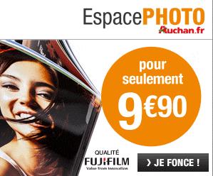 Votre livre photo à partir de 9,90€ : Espace photo Auchan