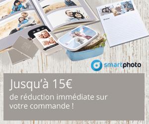 Jusqu'à 15€ de réduction sur votre commande !