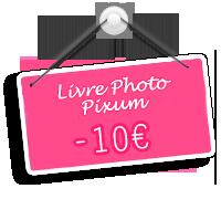 10 euros reduction livre photo pixum