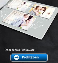 Réduction de 20% sur le livre De Luxe 30×40 cm de FOTO.COM