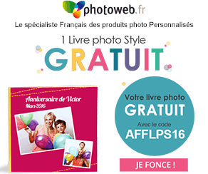 1 Livre Photo STYLE offert par Photoweb
