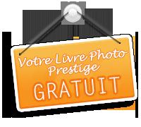 Livre photo GRATUIT dès 10 euros de commande avec Photobox