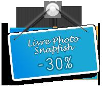 Livre Photo 30% Snapfish