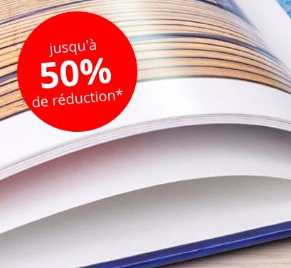 posterXXL : Jusqu'à 50% de réduction sur les livres photo rigides Classique A4