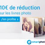 Remise de 10€ sur les livres photo L et XL